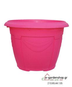 χρωματιστή γλάστρα ροζ