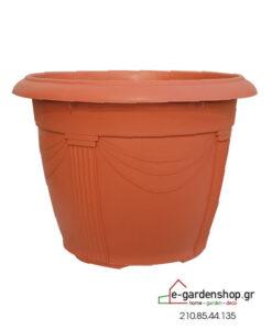 χρωματιστή γλάστρα terracota