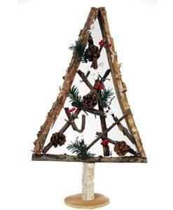 Ξύλινο χριστουγεννιάτικο δένδρο