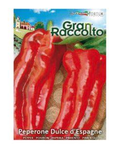Πιπεριά κόκκινη μακριά γλυκιά raccolto
